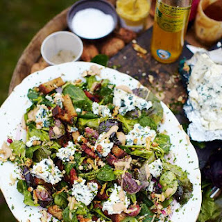 Roquefort Salad With Warm Croutons & Lardons
