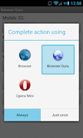 Screenshot of Browser Guru