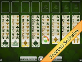 Screenshot of St Patricks Day Solitaire FREE