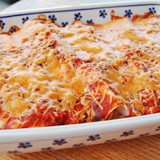 Grilled Chicken and Cream Cheese Enchiladas – 5 Ingredients