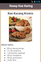Screenshot of Resep Kue Kering