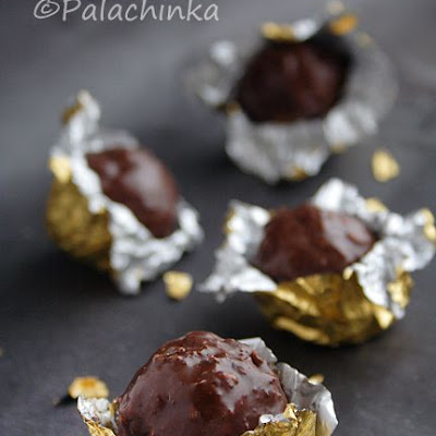 Homemade Ferrero Rocher