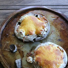 Skinny Stuffed Portobello Mushrooms