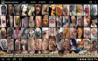 Screenshot of Amazing Tattoo Ideas FREE