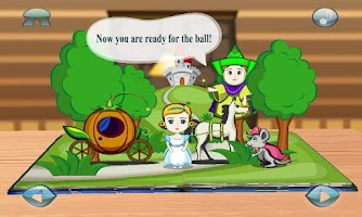 Screenshot of Cinderella : 3D Pop-up Book