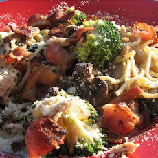 Pasta With Tuna, Bacon, and Broccoli
