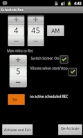 Screenshot of HQ Voice Recorder Lite