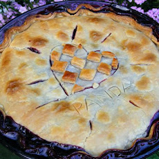 Country-Style Fresh Blackberry Pie