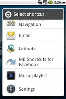 Screenshot of MB Shortcuts for Facebook