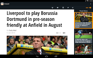 Screenshot of FTBpro - Liverpool FC Edition