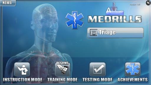 Medrills: Triage