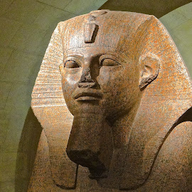 Egyptian Head by Steven Aicinena - Artistic Objects Other Objects