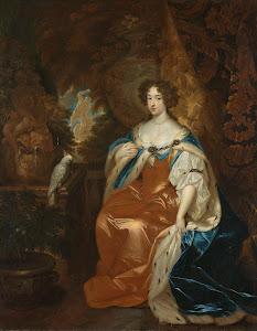 RIJKS: Caspar Netscher: painting 1683
