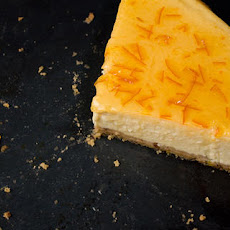 Orange-Vanilla Ricotta Cheesecake Recipe