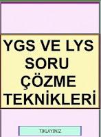 Screenshot of YGS LYS TEST ÇÖZME TEKNİKLERİ