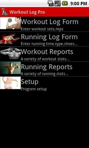 Workout Log Pro