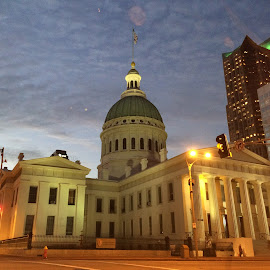 Old Saint Louis County Courthouse by Jim Suter - Buildings & Architecture Public & Historical ( st louis, courthouse )