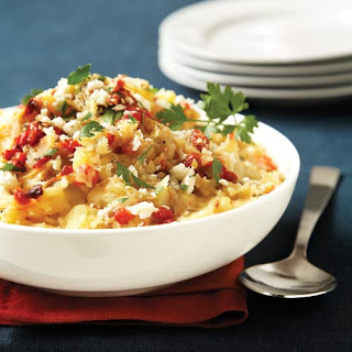 Roasted Red Pepper & Feta Mashed Potatoes