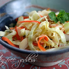 Warm Coleslaw Recipe with Chili-Lime Dressing