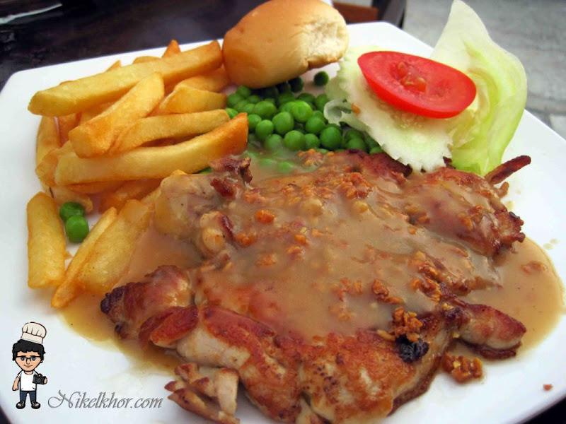 Grilled garlic chicken chop james foo western food malaysia food grilled garlic chicken chop rm 800 james foo western food forumfinder Gallery