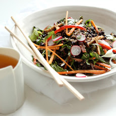 Black Rice Sesame Salad
