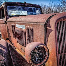 Old Dodge by Ron Meyers - Transportation Automobiles