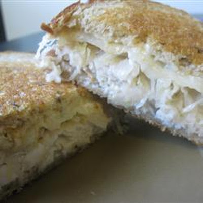 Grilled Turkey Reubens