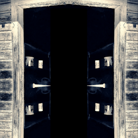 doorway to nothingness by Todd Reynolds - Digital Art Abstract
