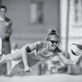 | Bech vollyball | by Photo Jovan - Sports & Fitness Other Sports ( beachvolleyball, sand, ball, action, mikasa, sport, usa, sunglasses )