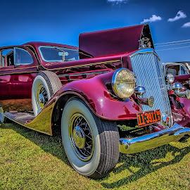 1935 Pierce Arrow by Ron Meyers - Transportation Automobiles