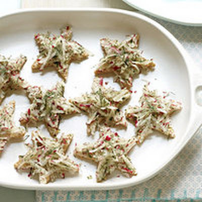 """Twinkle, Twinkle, Little Star"" Tea Sandwiches"