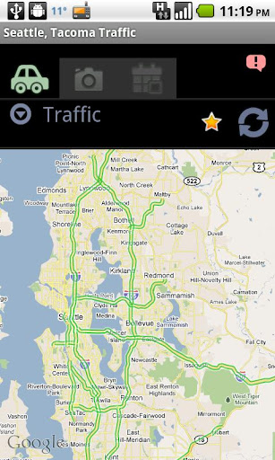 Seattle Tacoma Traffic Cam