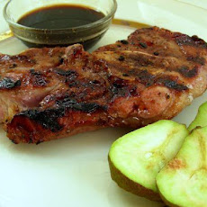 Easy Fruited Lamb Chops