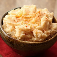 Paprika and Pepper Mashed Potatoes