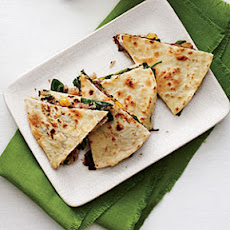 Crispy Vegetable Quesadillas