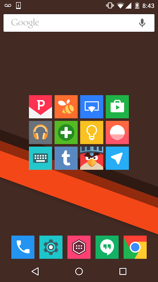 Minimal UI - Icon Pack Screenshot 6