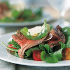 Steak, Arugula and Pecorino Salad