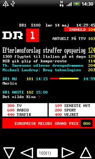 DR TV2 Tekst TV Pro
