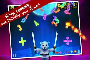Screenshot of Ice Math Ninja: ZERO