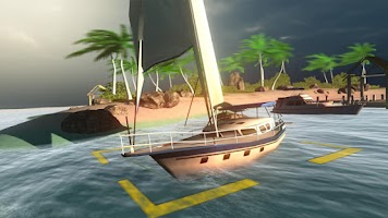 Screenshot of Marina Bay Boat Parking 3D