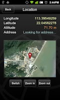 Screenshot of GPS Locator