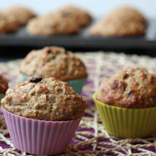 Healthy Whole Wheat Chocolate Chip Muffins Recipes