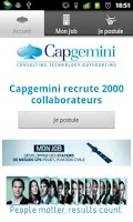 Screenshot of Capgemini - Mon job, ma vie