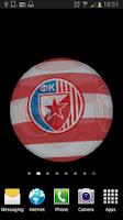 Screenshot of Ball 3D Red Star LWP
