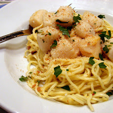 Capellini with Nantucket Bay Scallops