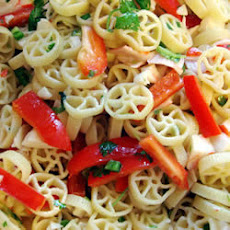 Tropical Crab Pasta Salad