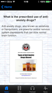 Anti-Anxiety Drugs Abused - screenshot