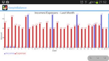 Screenshot of KeepInBalance - Money Manager