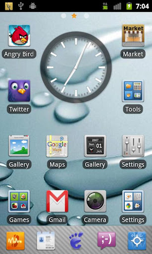 aPhone Theme GO Launcher EX