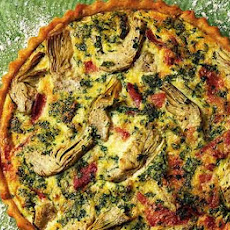 Artichoke, Bacon & Cheese Tart